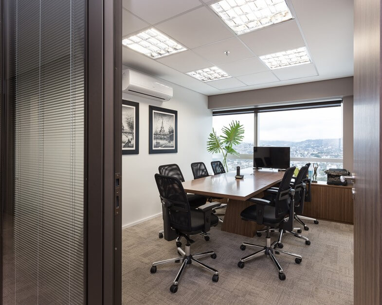 Wellington Barros - sala de reuniões